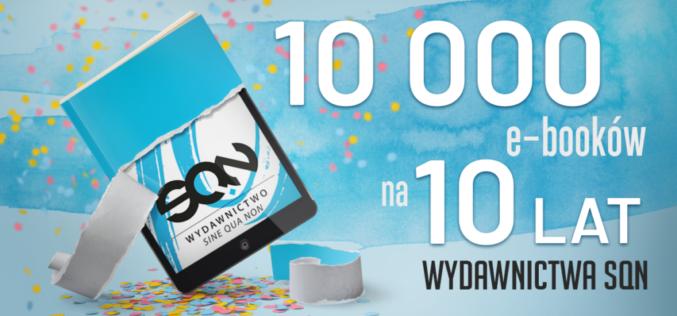 Wydawnictwo SQN świętuje swoje 10 lecie!