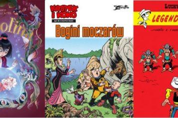 Nowości komiksowe dla dzieci Klubu Świata Komiksu Egmont Polska