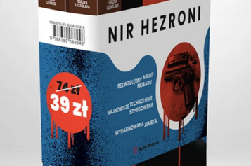 Trzy koperty i Ostatnie instrukcje – to dwa tomy mrożącej krew w żyłach szpiegowskiej historii Nira Hezroniego o agencie 10483