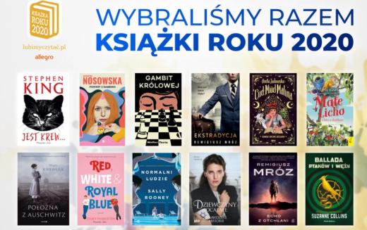 Znamy zwycięzców Plebiscytu Książka Roku 2020