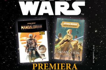 Pierwsze powieści ze świata Star Wars wydane przez Wydawnictwo Olesiejuk