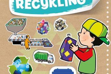 Naklejki edukacyjne. Recykling