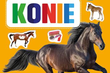Konie. 60 kolorowych naklejek